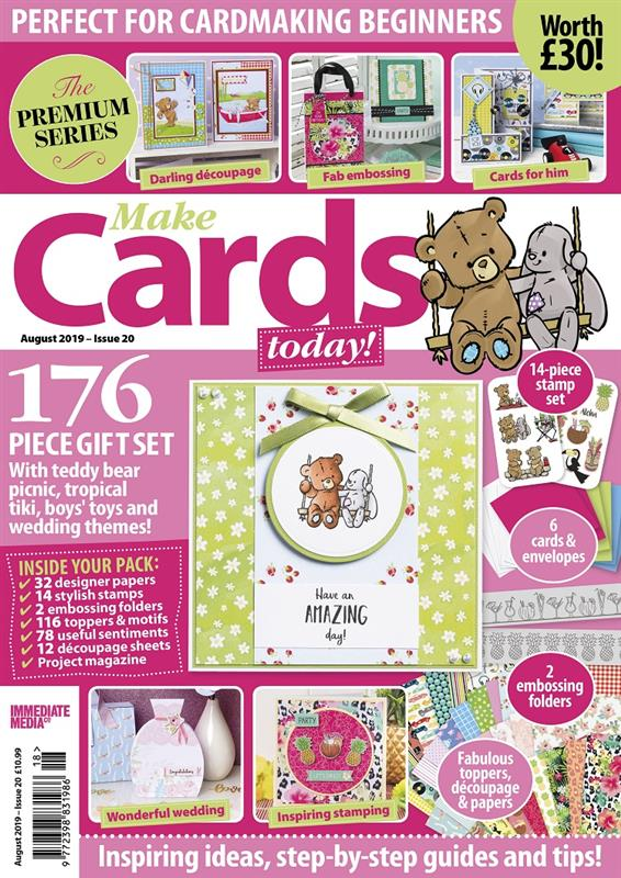 Make Cards Today August 2019