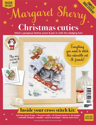 Margaret Sherry Christmas Cuties Cross Stitch Kit