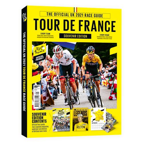 Official Tour De France Race Guide Magazine 2021